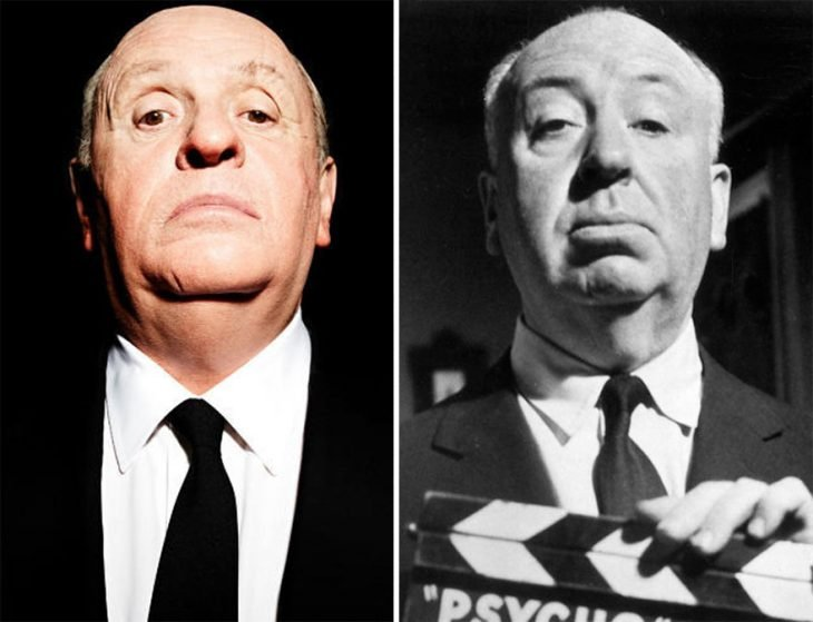 Anthony Hopkins como Alfred Hitchcock en Hitchcock