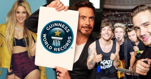 15 Celebridades que tienen un Récord Guinness y seguramente no sabías
