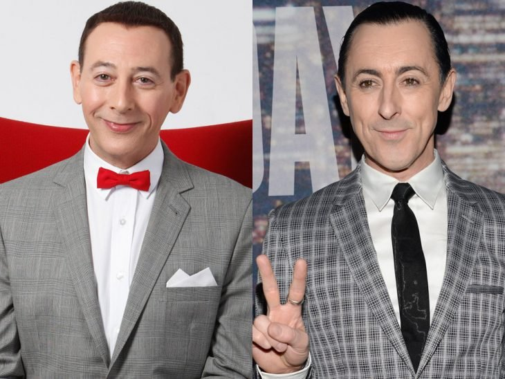 Paul Reubens y Alan Cumming