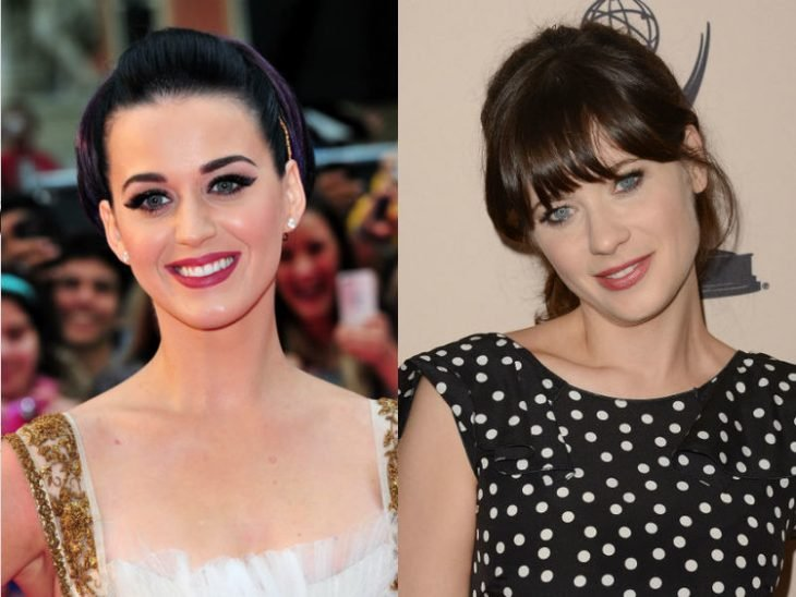 Katy Perry y Zooey Deschanel