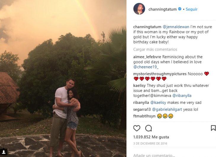 Comentarios en twitter de la separación de Jenna Dewan y Channing Tatum