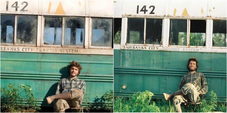 Emile Hirsch como Christopher McCandless enInto The Wild