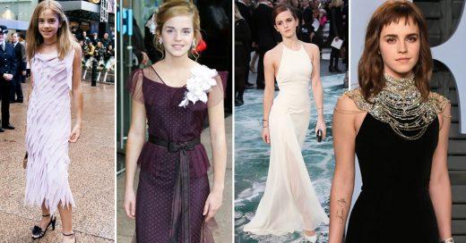 27 Looks que retratan la evolución de estilo de Emma Watson