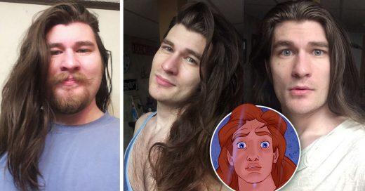 Este chico pierde 32 kilos y ahora parece un príncipe de Disney