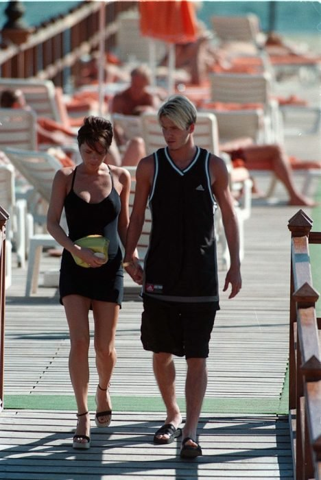 Victoria Beckham y su esposo David Beckham