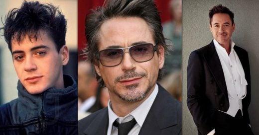 Evolución de sensualidad de Robert Downey Jr