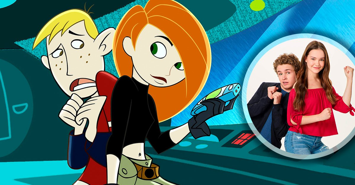 Conoce a los actores que interpretarán a Kim y Ron en el live action de 'Kim Possible'