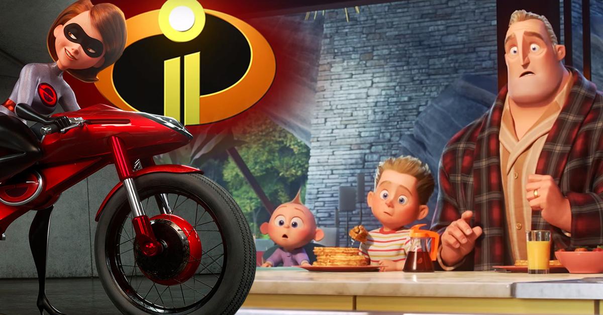 Presentan nuevo trailer de los Increíbles 2 y no podemos con la emoción