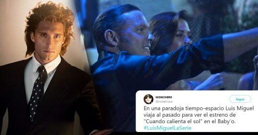 La gente enloqueció un poquito porque Luis Miguel aparece en la serie de Netflix de Luis Miguel