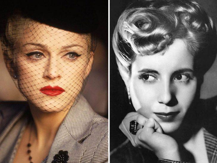 Madonna como Eva Peron enEvita
