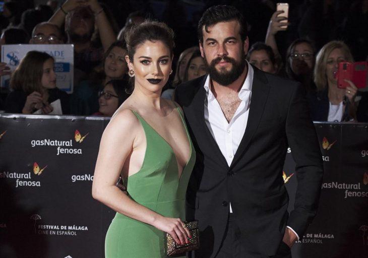 Mario Casas y Blanca Suárez juntos en la premiere de una plícula