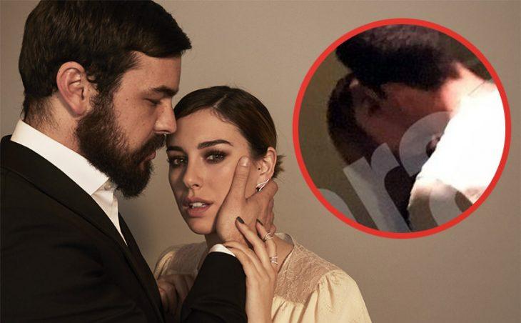 Beso entre Mario Casas y Blanca Suárez