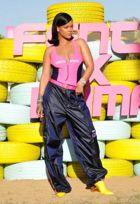 Rihanna en coachella 2017