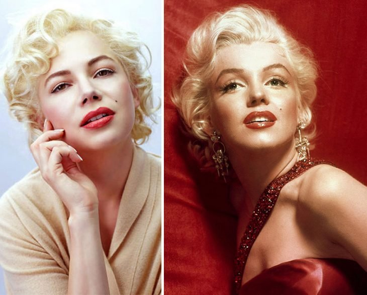 Michelle Williams como Marilyn Monroe en My Week With Marilyn