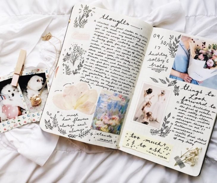 Notas inspiradoras bullet journal