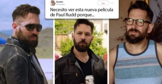 Paul Rudd dejó crecer su barba y ahora nuestros deseos por él van en aumento