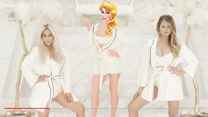 Princesas imaginadas como cantantes de pop famosas