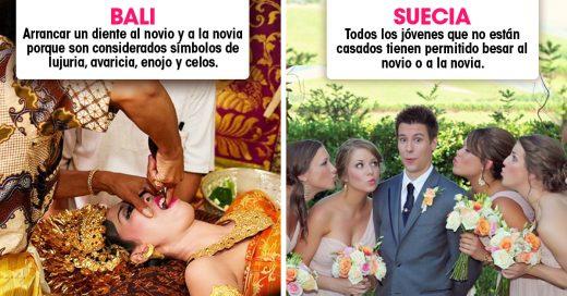 10 Extrañas costumbres que se practican en algunos países para lograr los mejores matrimonios