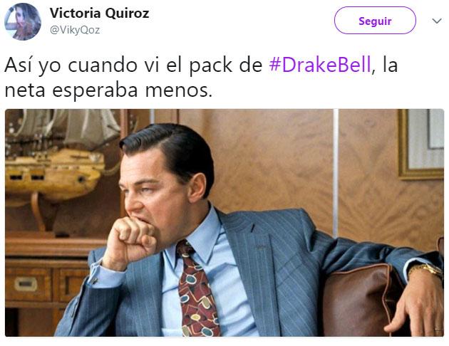 Reacciones al pack de drake bell