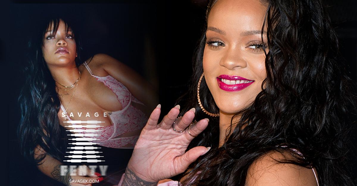 Tras su éxito en cosmética, Rihanna se lanza a por la lencería