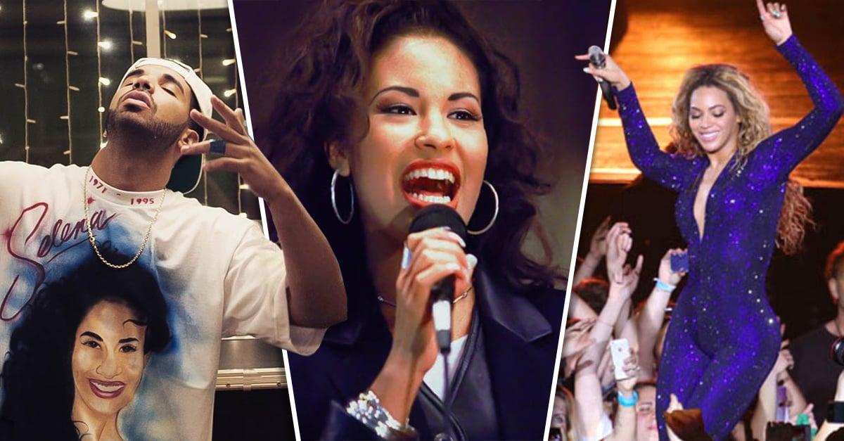 15 Celebridades que se inspiraron en Selena Quintanilla para alcanzar el éxito