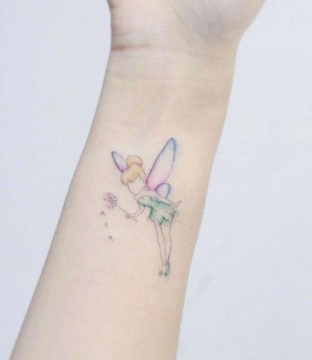 Tatuaje de Disney inspirado en Peter Pan