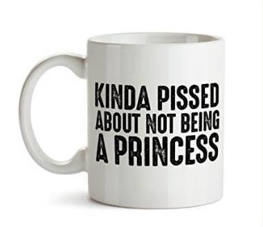 Tazas con frases e imágenes de las princesas de