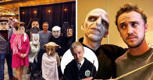 15 Momentos en los que Tom Felton demostró ser el más grande fan de Harry Potter