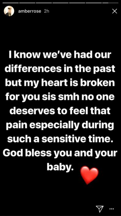 Mensaje de Amber Rose a Khloe Kardashian