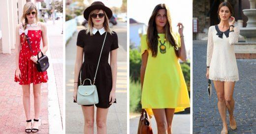 15 Vestidos cortos para mujeres elegantes y conservadoras