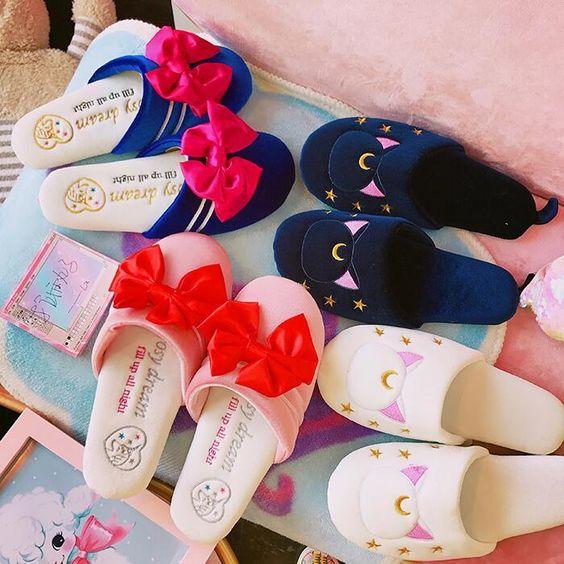 pantuflas de Sailor Moon