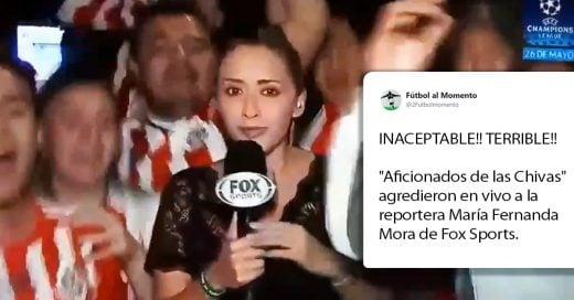 Reportera sufre de acoso sexual mientras transmitía en vivo