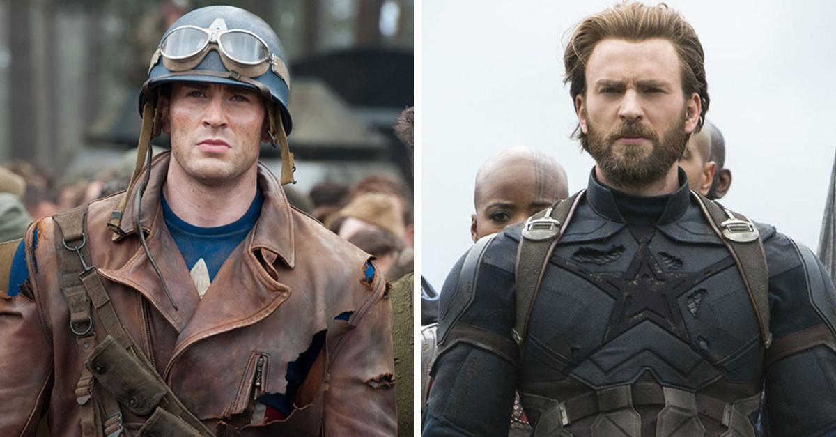 El increíble cambio que han sufrido los personajes de Marvel a través de los años