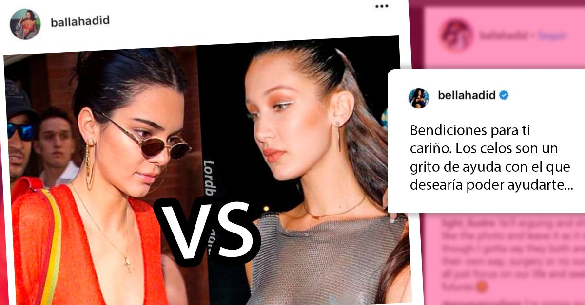 Bella Hadid enfrenta a un hater y defiende a Kendall Jenner