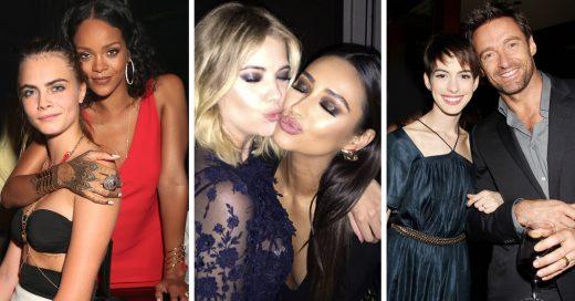 15 Celebridades que se hicieron amigas después de grabar juntas