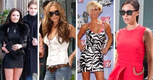 15 Outfits que demuestran la evolución de estilo de Victoria Beckham