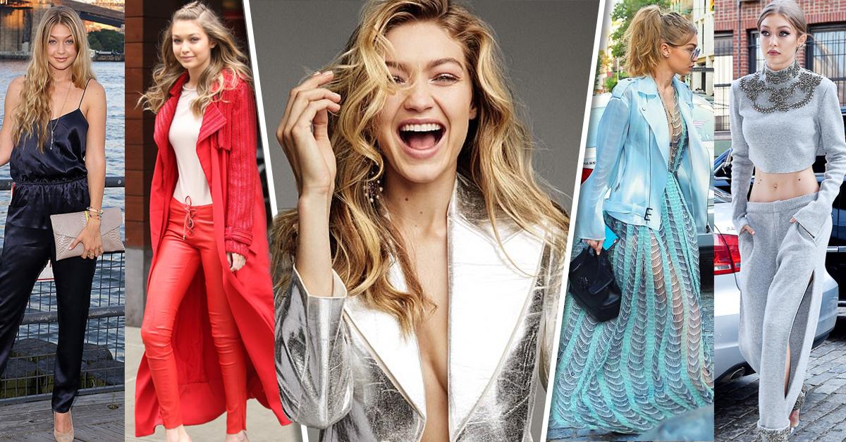 La sorprendente evolución de estilo de Gigi Hadid; su guardarropas es impresionante