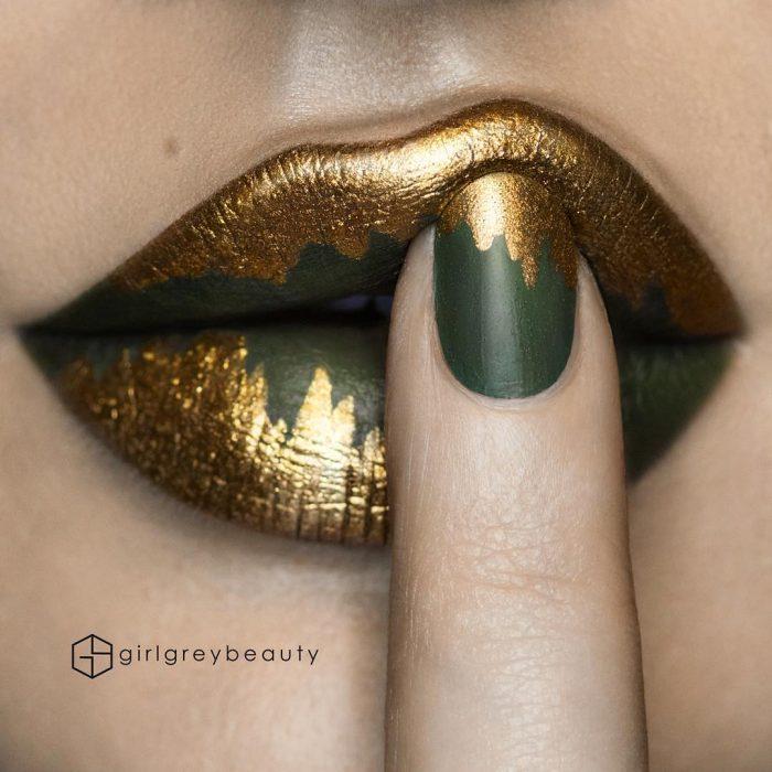 labios con arte