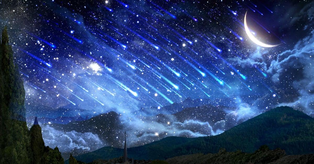 Una lluvia de estrellas se acerca y vas a poder verla en todo el mundo