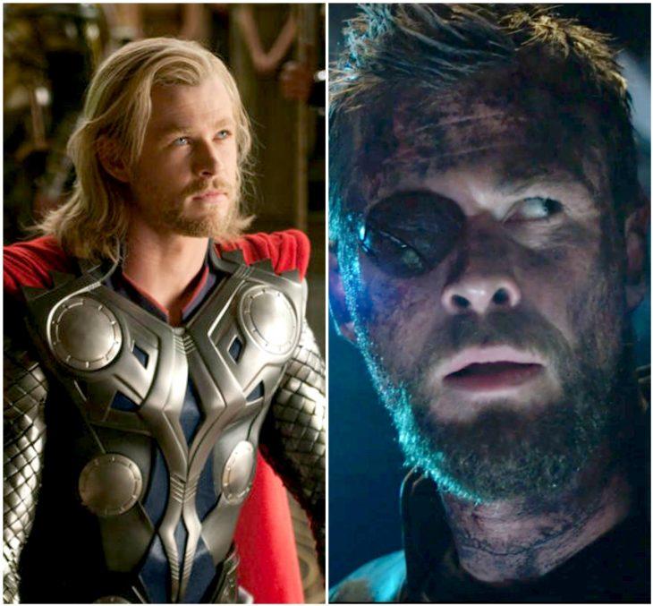 marvel antes y después
