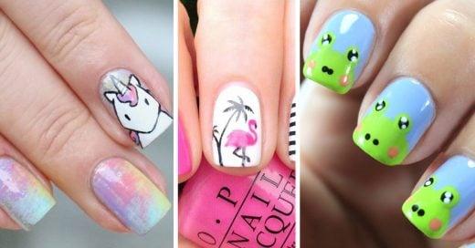 15 diseños de uñas originales para las chicas obsesionadas con los animales