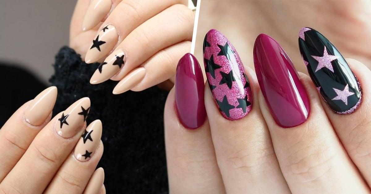nails estrellas