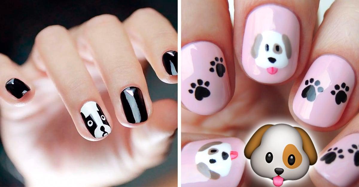 Tiernos diseños para uñas inspirados en tu hermoso perrito