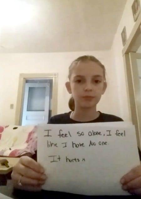niña denuncia bullying