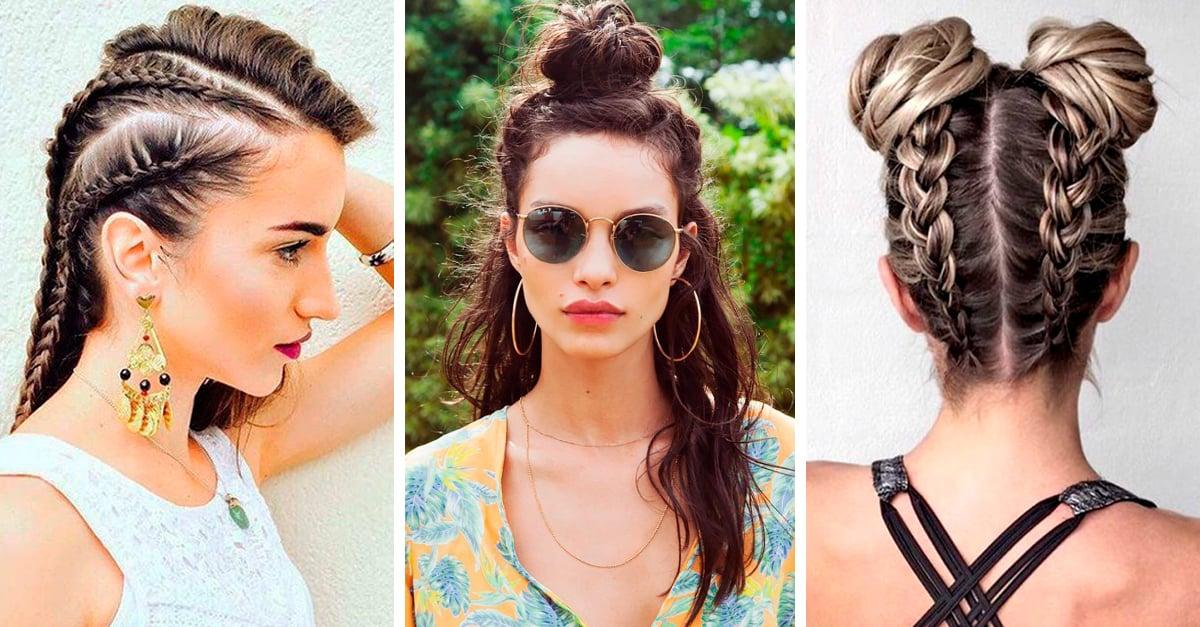 20 Peinados para despejar tu rostro en la temporada de calor