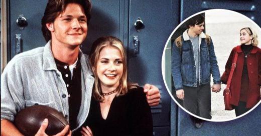 Esta es la primera imagen de Sabrina y Harvey en Netflix: vas a derretirte de ternura
