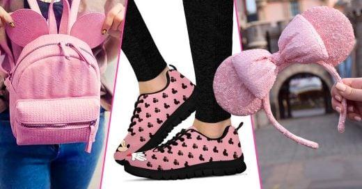 15 Artículos de Disney en color rosa para las chicas tiernas