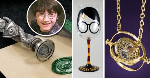 15 Mágicos artículos exclusivos para los fans de Harry Potter