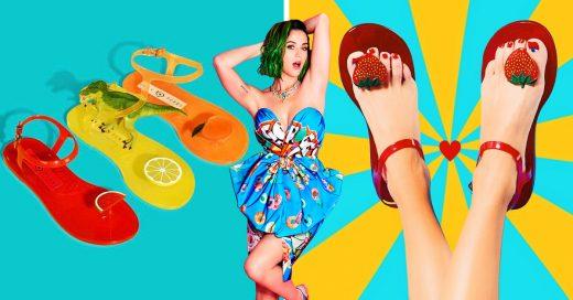 La nueva colección de sandalias de Katy Perry son lo más delicioso que veras
