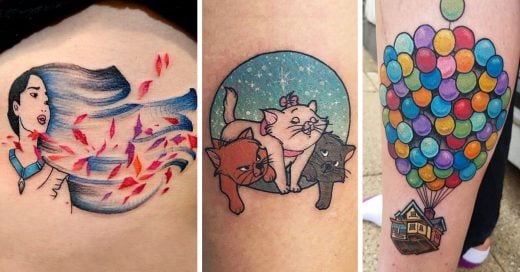 15 Tatuajes de Disney que vas a querer usar en tu pie